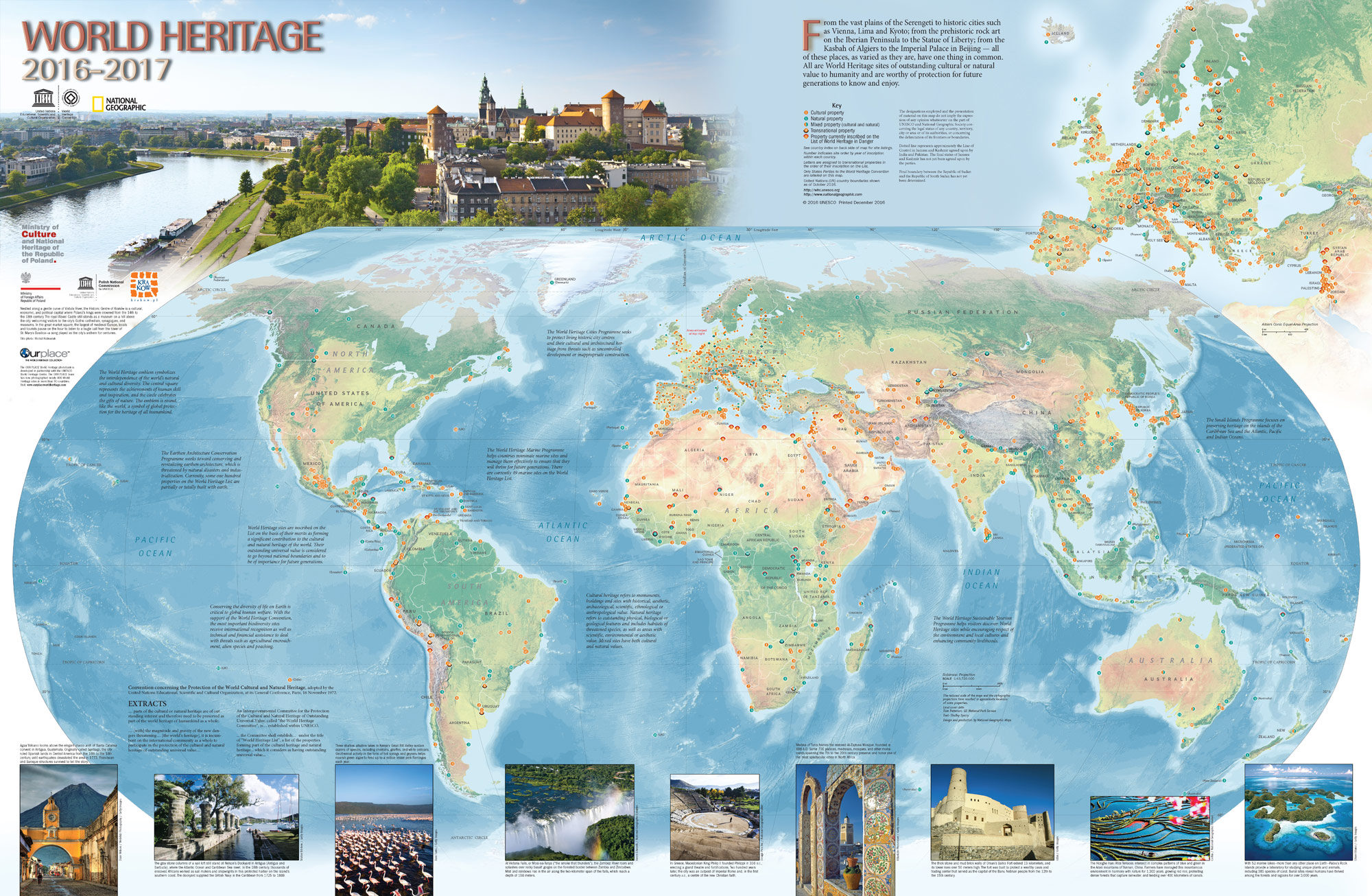World heritage centre world heritage map pdf version gumiabroncs Image collections