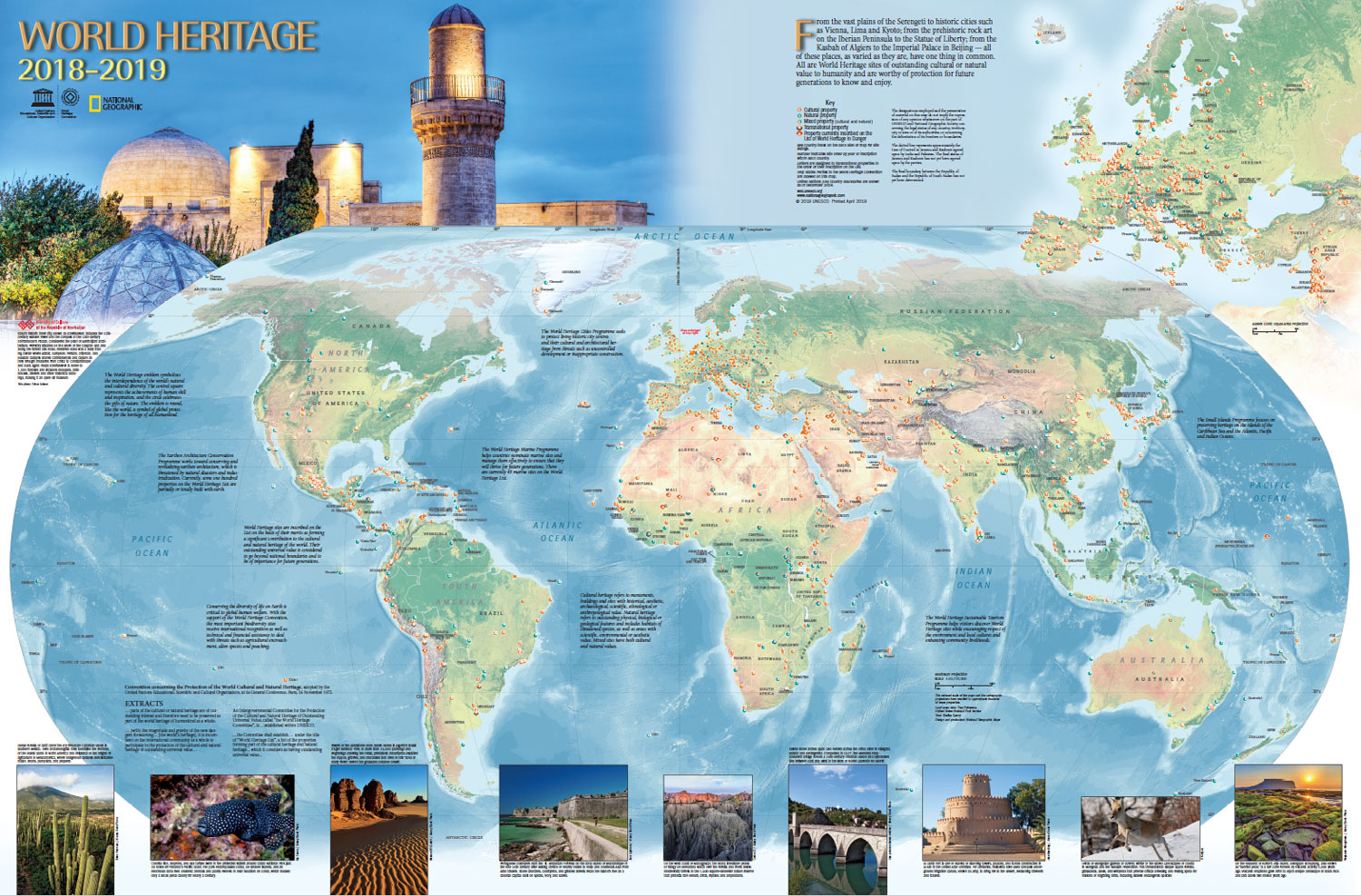 World Heritage Centre - World Heritage Map