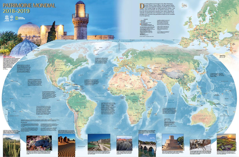 Carte Unesco Espagne.Centre Du Patrimoine Mondial La Carte Du Patrimoine Mondial