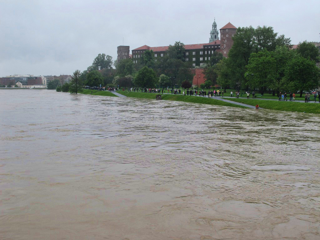 Vistula and Wawel Hill