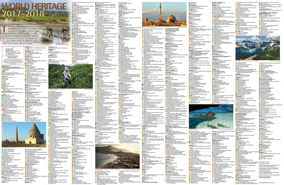 Order the world heritage map unesco world heritage centre it is available in english french and spanish as well as superb photos of world heritage sites with explanatory captions the dimensions of the map are 78 gumiabroncs Images