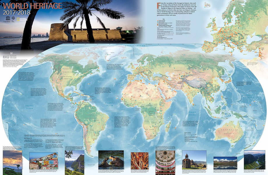 Order the world heritage map unesco world heritage centre as well as superb photos of world heritage sites with explanatory captions the dimensions of the map are 78 cm by 50 cm 31 in by 20 in gumiabroncs Images