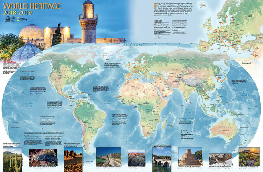 Order the World Heritage Map - UNESCO World Heritage Centre