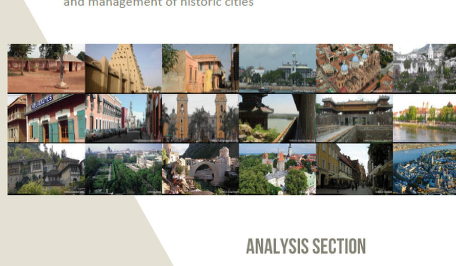 Developing historic cities: keys for understanding and