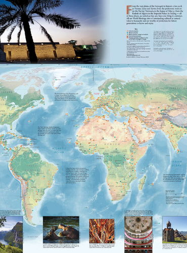 Unesco world heritage centre 2017 2018 world heritage map published gumiabroncs Gallery