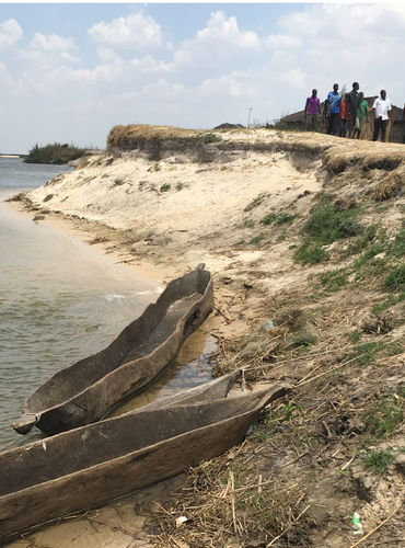 Severe erosion threatens the shrines of Barotse Cultural Landscape