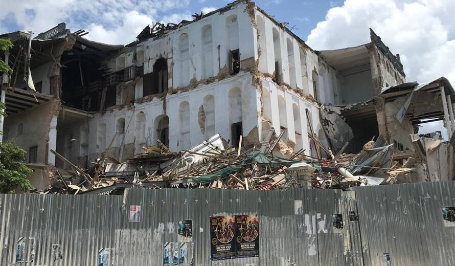 Early notification of collapse of House of Wonders in Zanzibar - UNESCO  World Heritage Centre