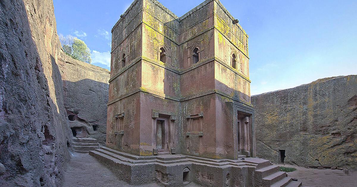 4. Rock-Hewn Churches, Lalibela