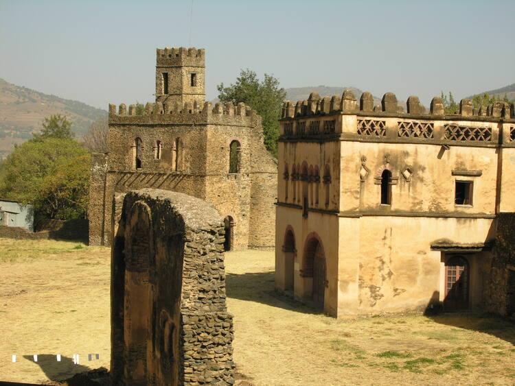 Fasil Ghebbi Gondar Region Unesco World Heritage Centre