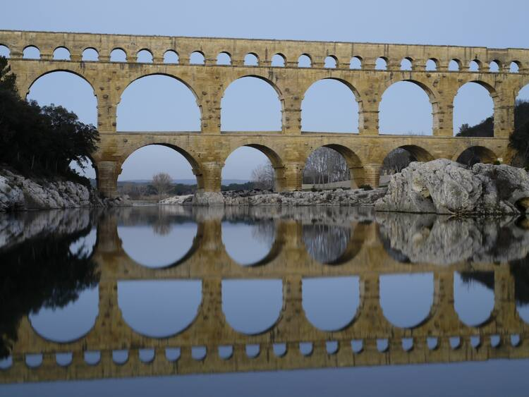 how to get to pont du gard