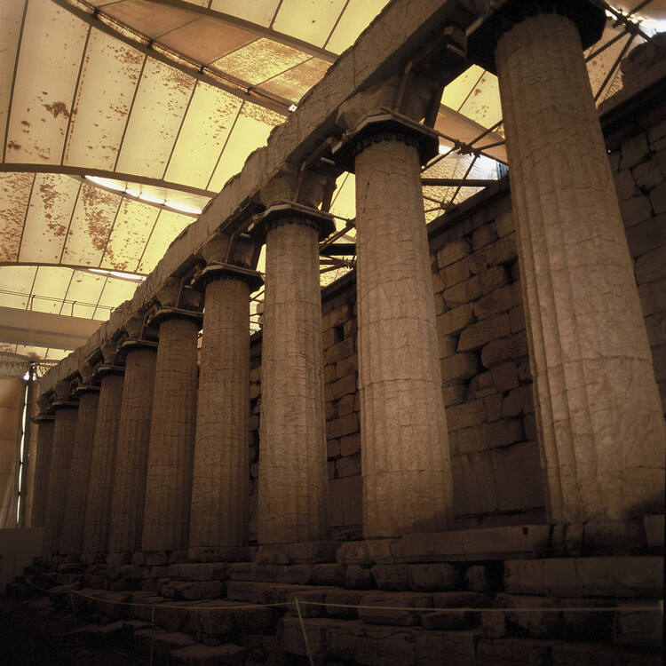 Temple of Apollo Epicurius at Bassae - UNESCO World Heritage