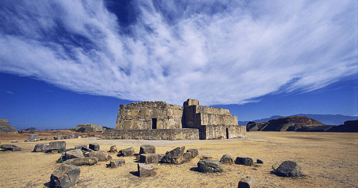 historic centre of oaxaca and archaeological site of monte albán