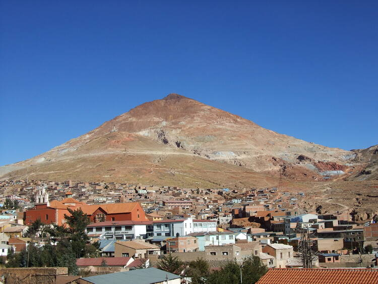 City Of Potosi Bolivia Plurinational State Of A Sandoval Ruiz