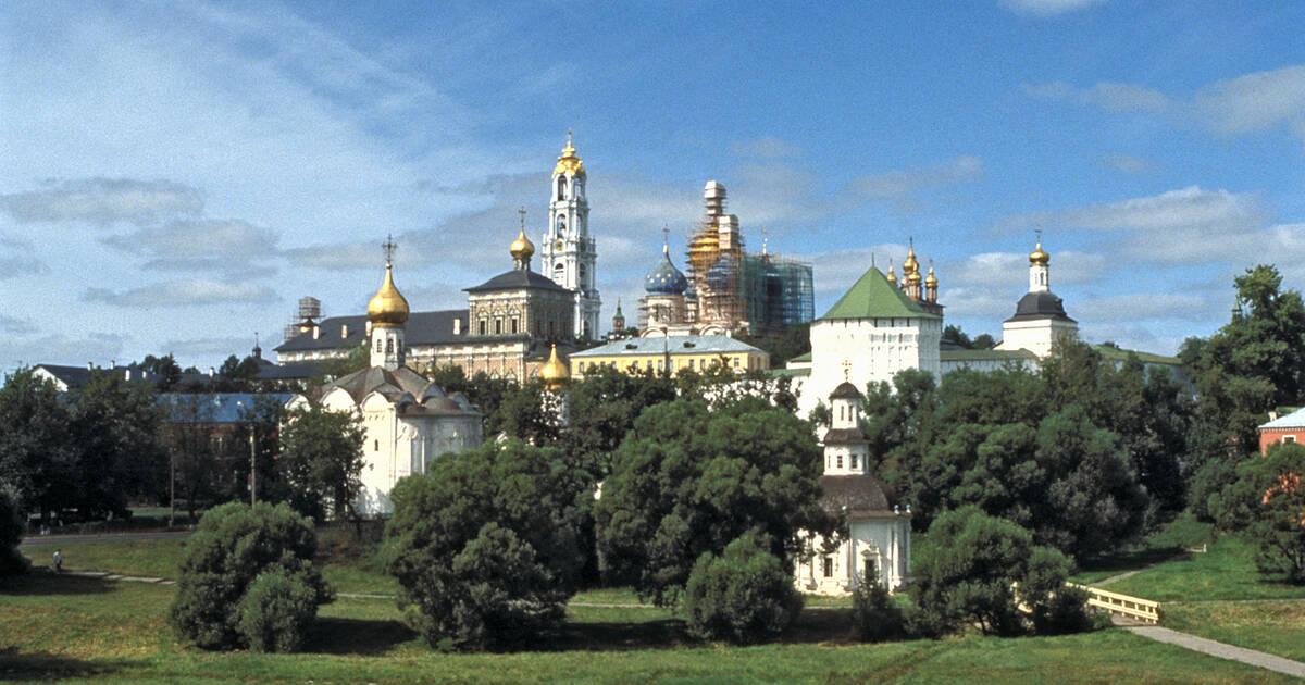 Architectural Ensemble of the Trinity Sergius Lavra in Sergiev Posad