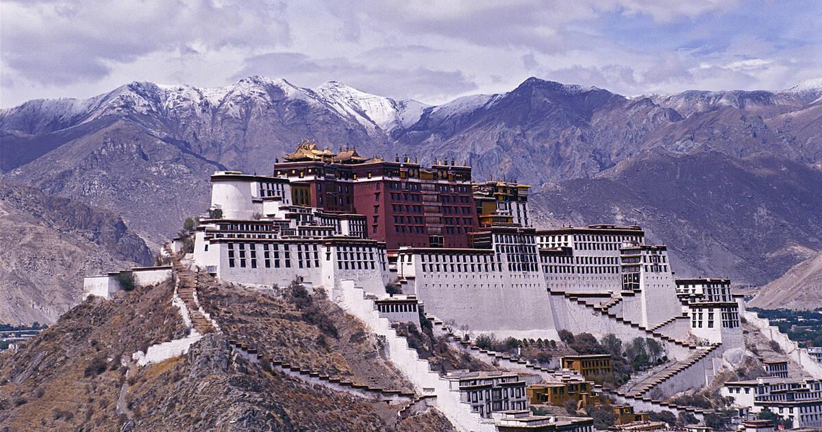 le palais du potala tibet