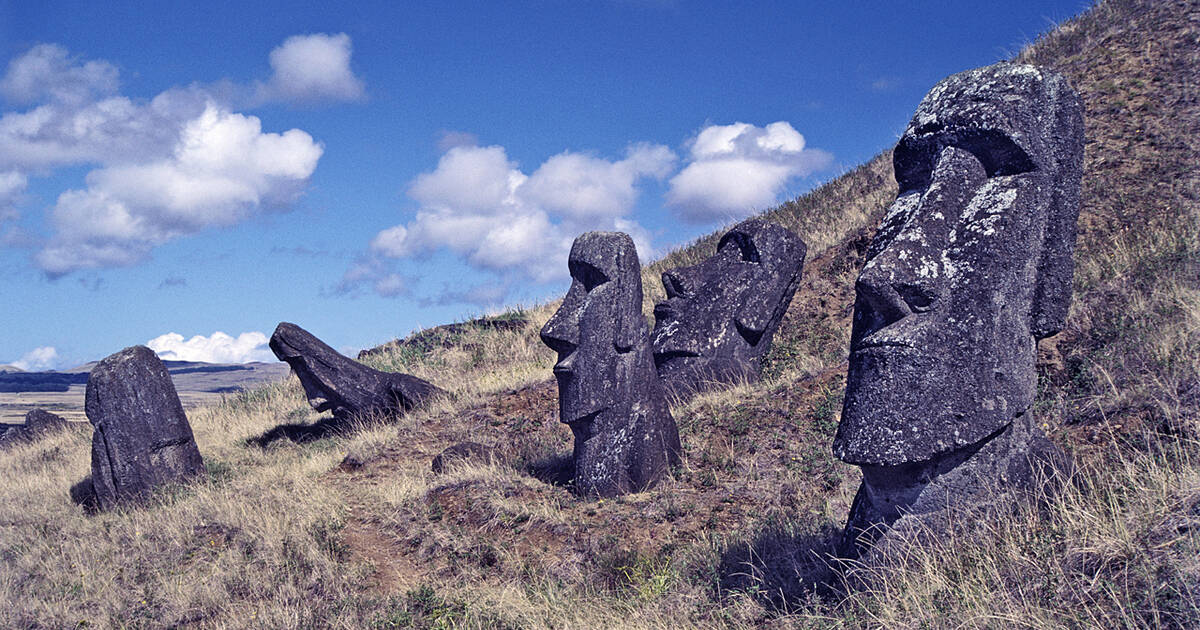 Steinstatuen Rapa Nui