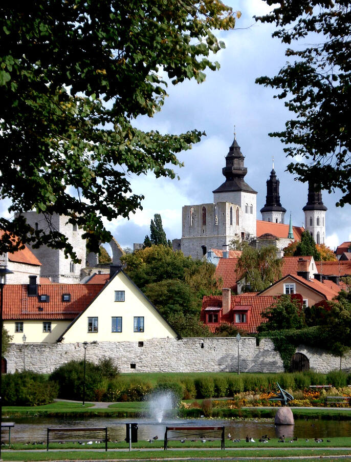 hanseatic town of visby unesco world heritage centre