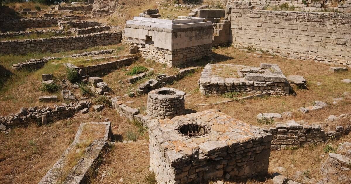 Site Arch 233 Ologique De Troie Unesco World Heritage Centre