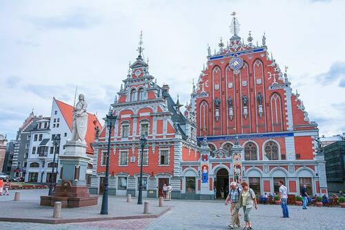 Historic center of Riga, Latvia
