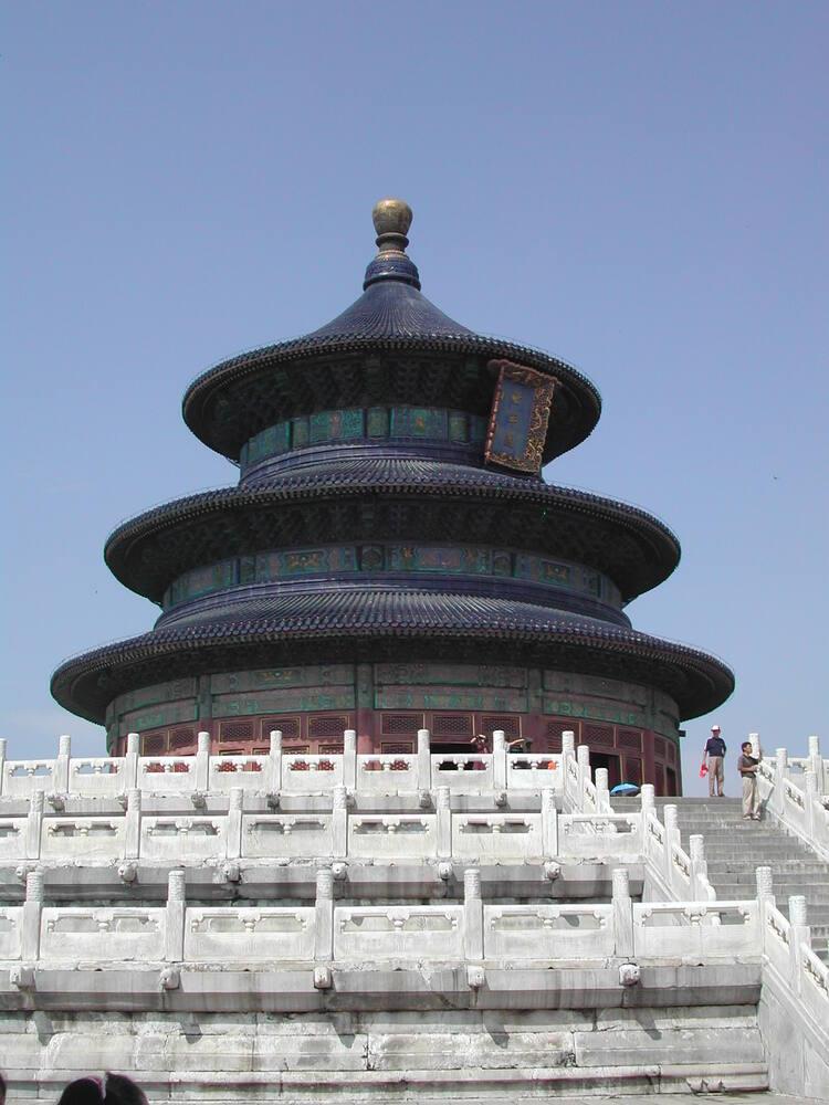 temple of heaven an imperial sacrificial altar in beijing unesco