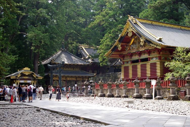 Resultado de imagem para Templo Nikko Toshogu