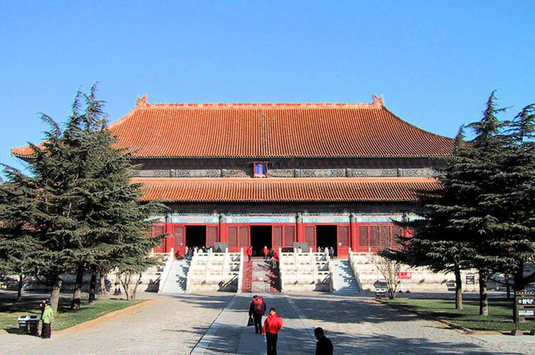 Carte Chine Ming.Tombes Imperiales Des Dynasties Ming Et Qing Unesco World Heritage