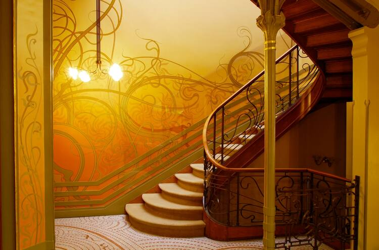 Foyer Museum Quotes : Major town houses of the architect victor horta brussels