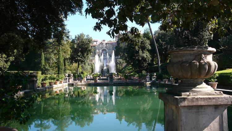 Afbeeldingsresultaat voor Italiaanse Villa d'Este in Tivoli