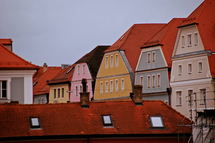 Old town of Regensburg with Stadtamhof - UNESCO World