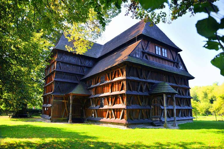 Wooden Churches Of The Slovak Part Of The Carpathian Mountain Area