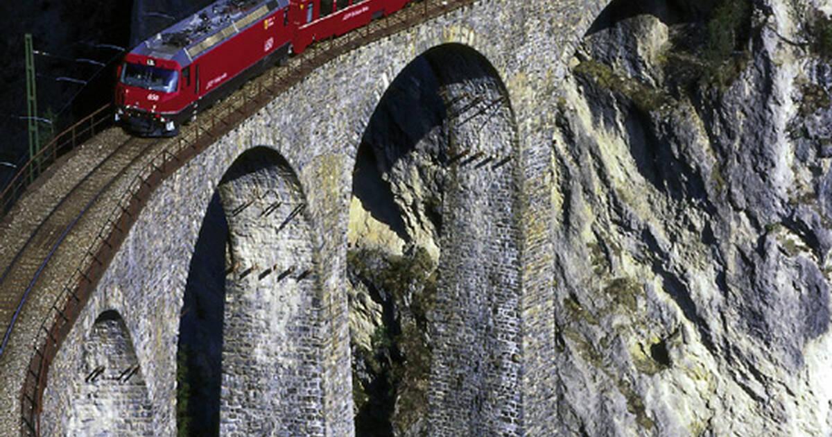 Rhaetian Railway in the Albula / Bernina Landscapes - UNESCO