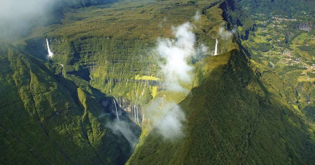 Image result for Pitons, cirques and remparts of Reunion Island