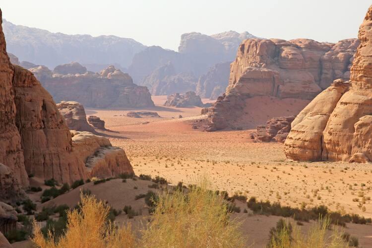 Wadi Rum Protected Area - UNESCO World Heritage Centre