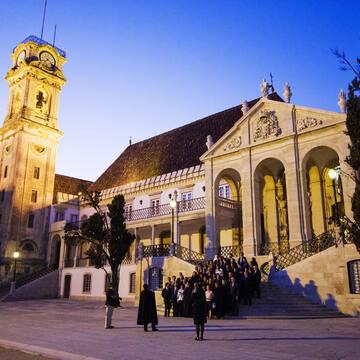 Universidade de Coimbra. Author: Manuel Ribeiro