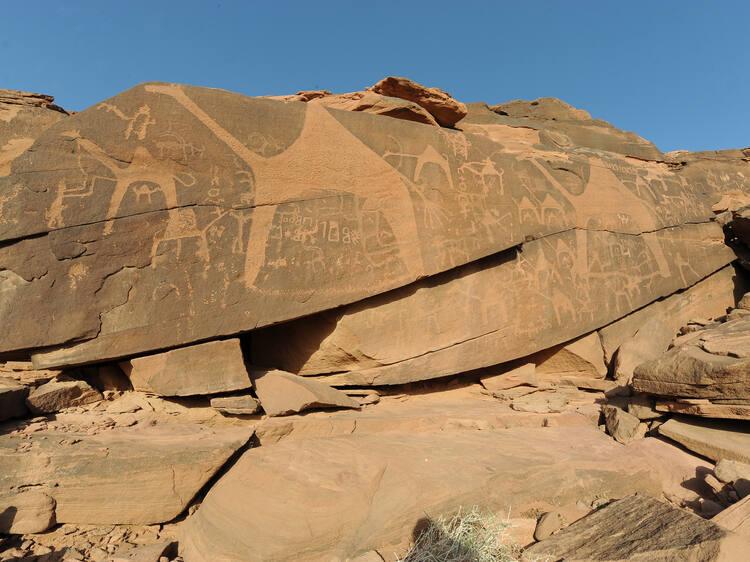 Rock Art in the Hail Region of Saudi Arabia - UNESCO World Heritage