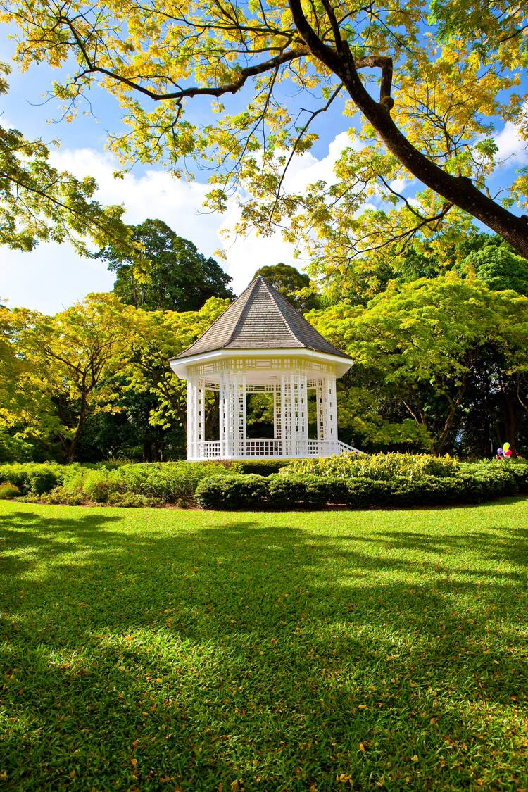 The Bandstand © Singapore Botanic Gardens