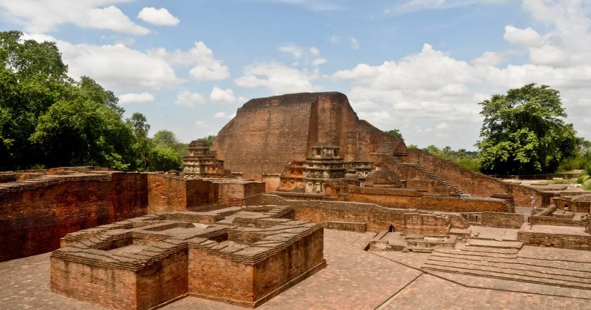 Archaeological Site of Nalanda Mahavihara at Nalanda, Bihar