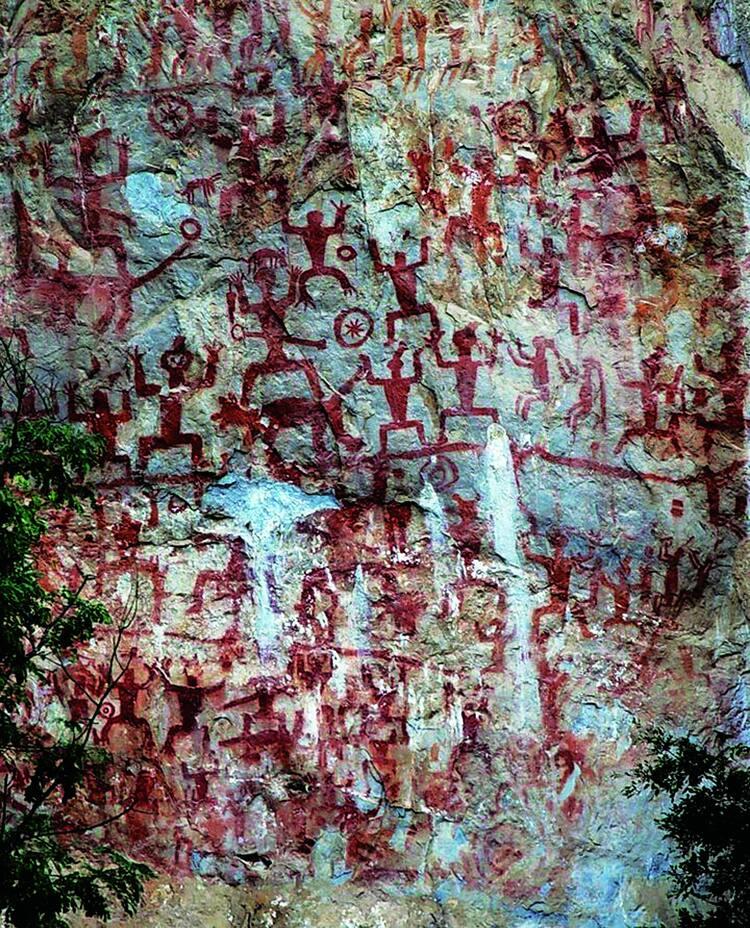 124782b0f Zuojiang Huashan Rock Art Cultural Landscape - UNESCO World Heritage ...
